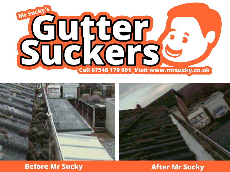 Mr Sucky Gutter Cleaning Telford